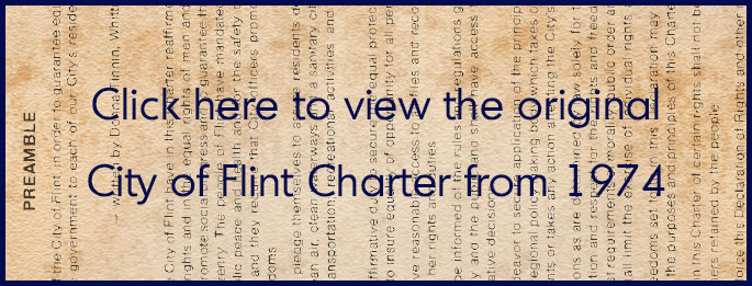 Original City of Flint Charter